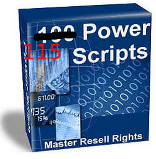 Product picture More than 100 CGI- Power- Scripts