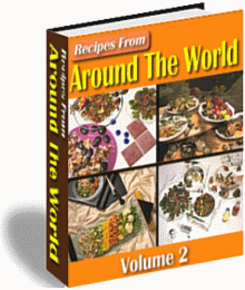 Product picture Recipes From Around The World Volume 2