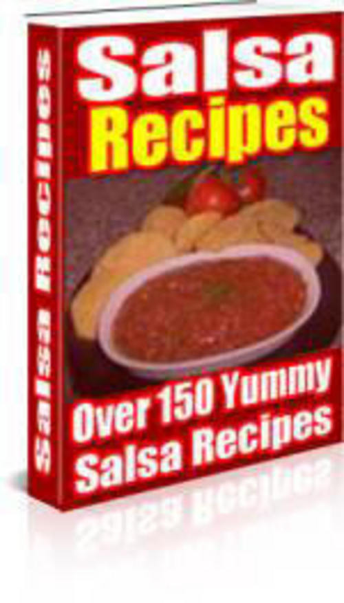 Product picture Over 150 Salsa Recipes
